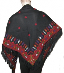 Handmade-Embroidered Shawl
